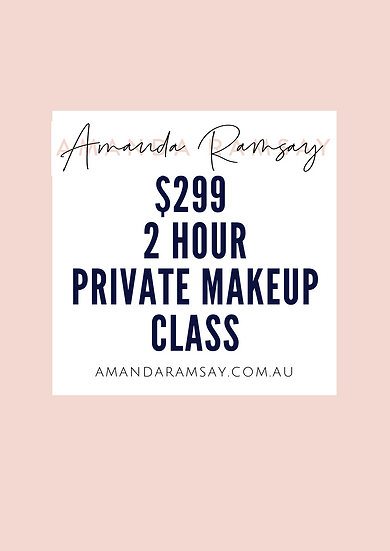 2 Hour Private Makeup Class