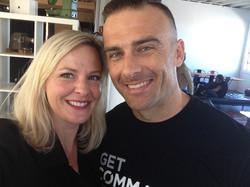 Commando Steve and Amanda Ramsay