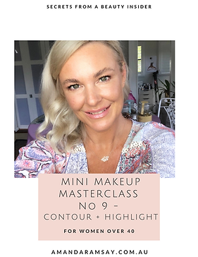 Mini Makeup Class Contour + Highlight Se
