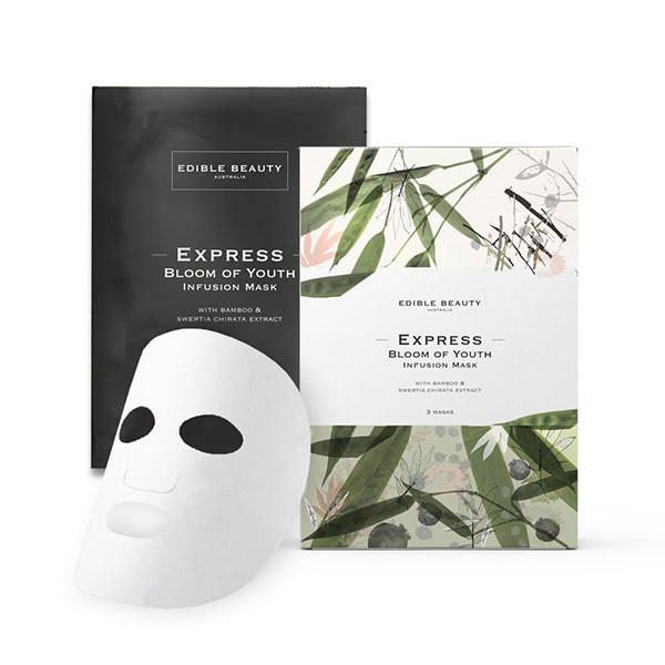 Edible Beauty face sheet masks