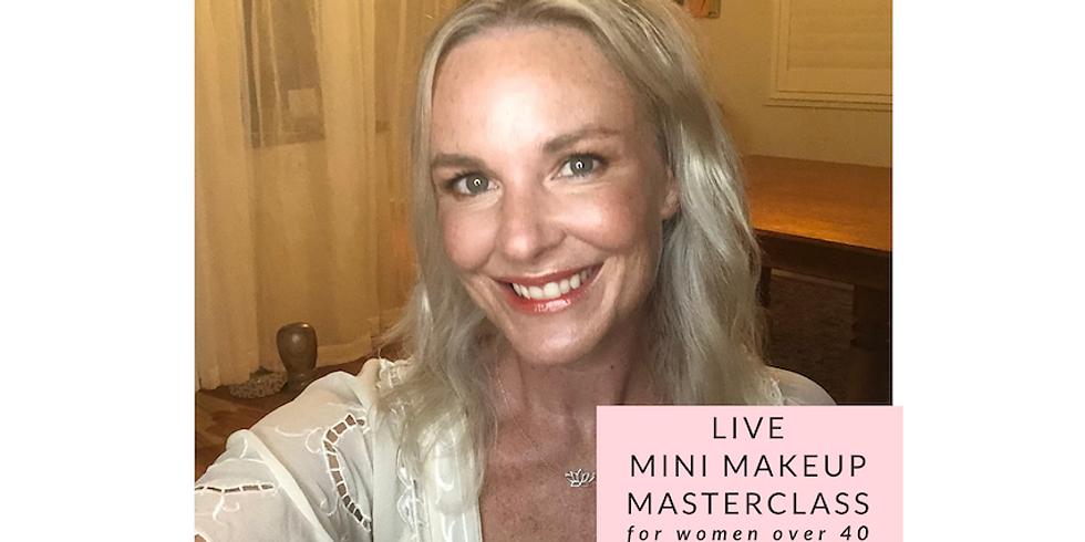 FREE mini eye makeup masterclass on Facebook Live