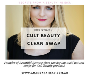 Swap your cult makeup favourites for effective 100% natural alternatives? Nina Weston founder of Bea