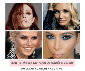 How to choose the right eyeshadow colour for you.
