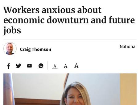 Wellbeing in an economic downturn...
