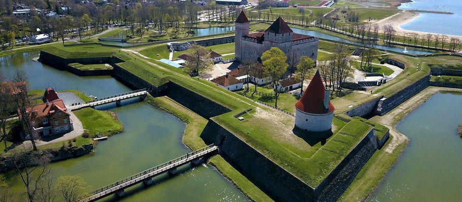 Haap helped to apply for support to further develop Kuressaare's Fortress