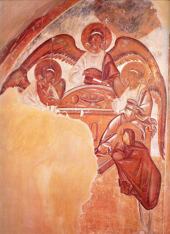 Фрагмент фрески Феофана Грека