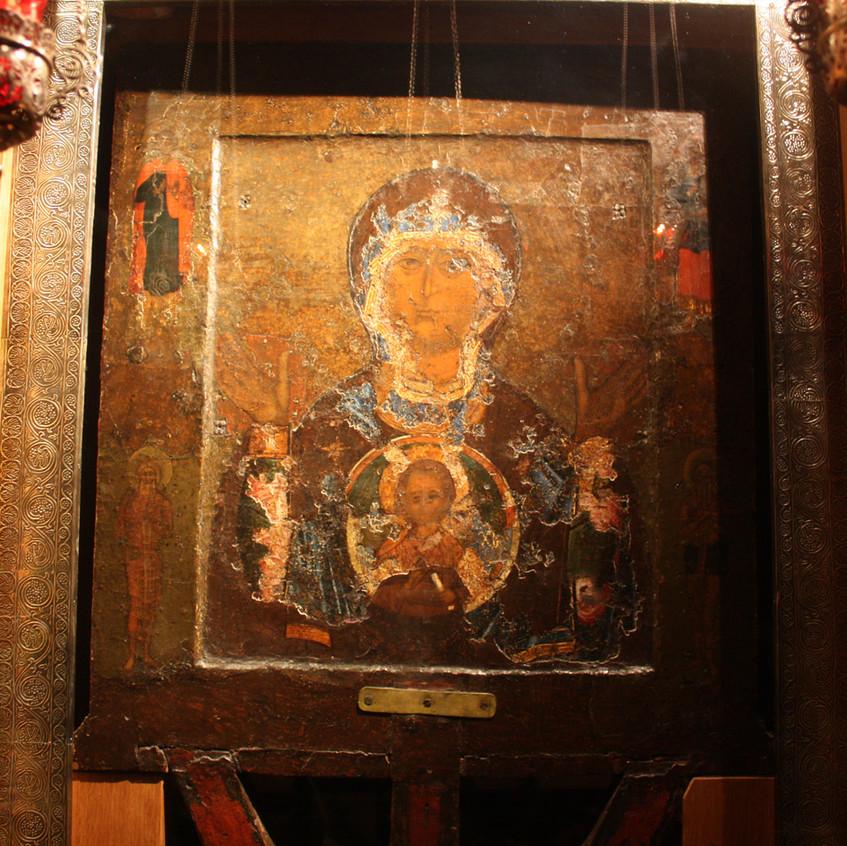"""Икона """"Знамение"""" в Софийском соборе"""