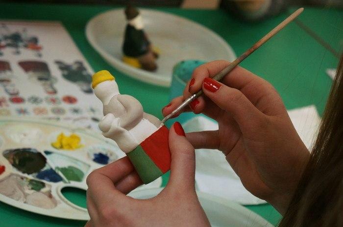 Мастер-класс по глиняной игрушке