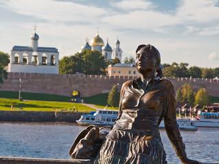 Современная городская скульптура Великого Новгорода