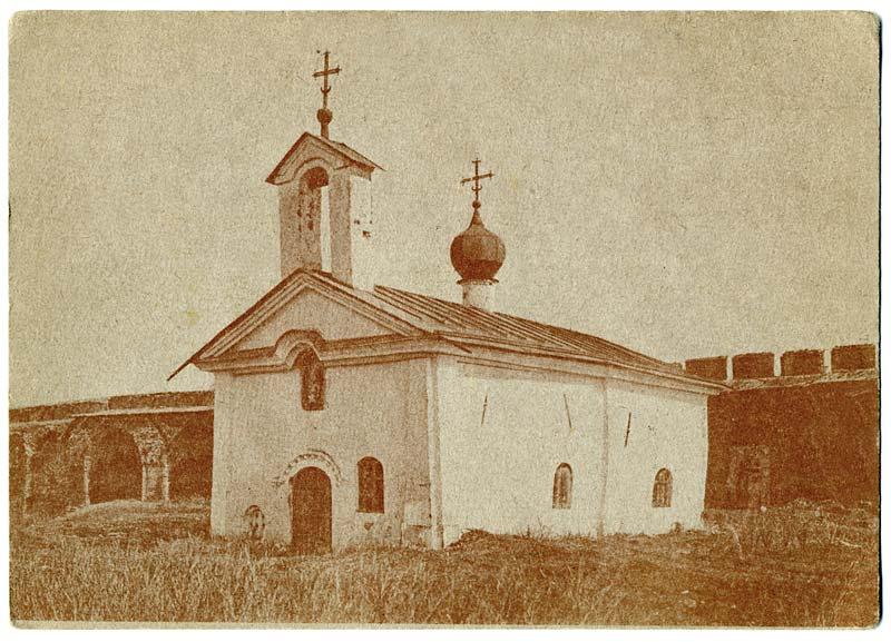 Элемент рески в церкви Андрея Страти