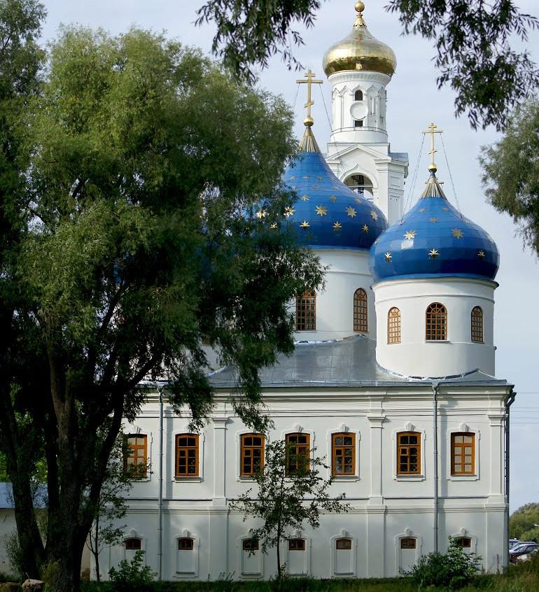 Купола Крестовоздвиженского собора