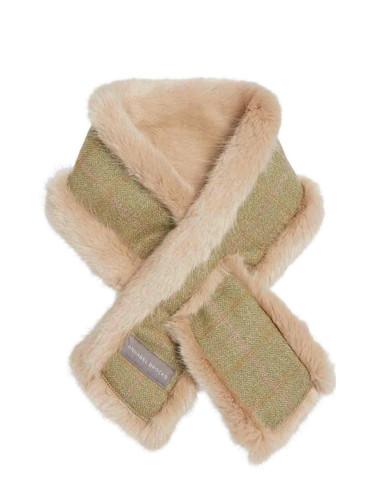 Faux Fur Neckwarmer - Green T