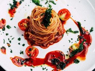 Celebs Eating Spaghetti on Instagram