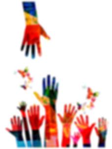 In Community w Butterflies and hands.jpg
