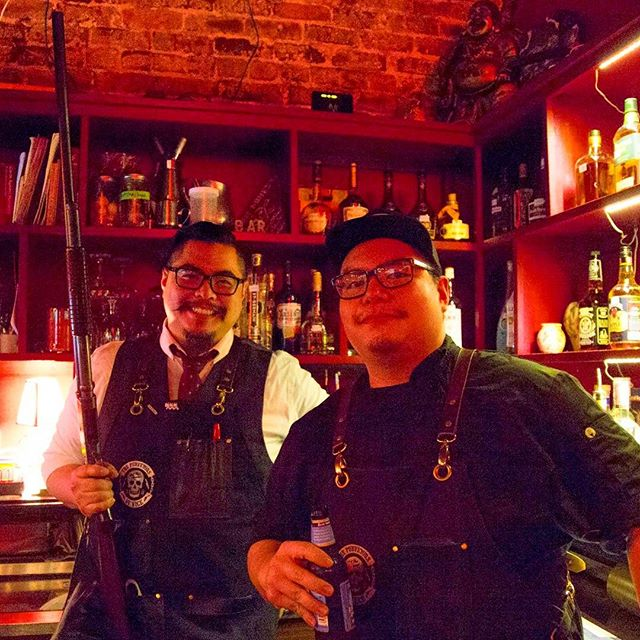 The Huynh Brothers repping The Purveyors of Vice__Photo courtesy of _sarahlouya our badass photograp
