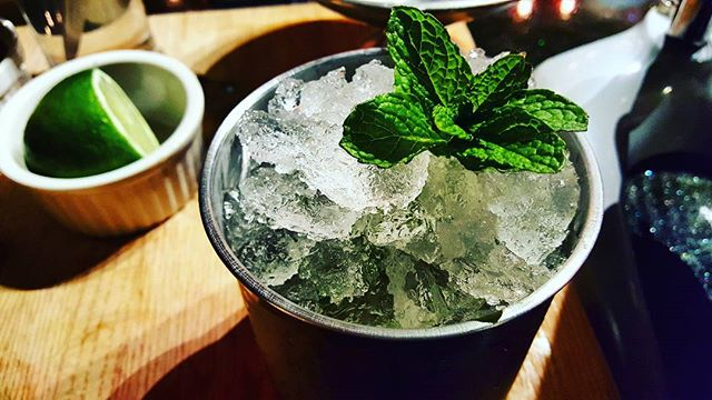 Someone ordered a true mint julep 😍 #lexingtonnc #lexington #nc #smalltown #shoto #purveyorsofvice