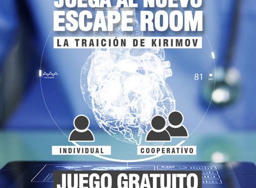 """NUEVO ESCAPE DISPONIBLE """"LA TRAICIÓN DE KIRIMOV"""""""