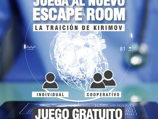 "NUEVO ESCAPE DISPONIBLE ""LA TRAICIÓN DE KIRIMOV"""