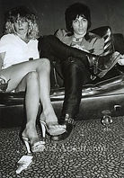 Johnny Thunders and Sable Starr