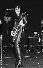 Joan Jett Runaways live