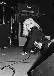 Blondie, Debby Harry 1977