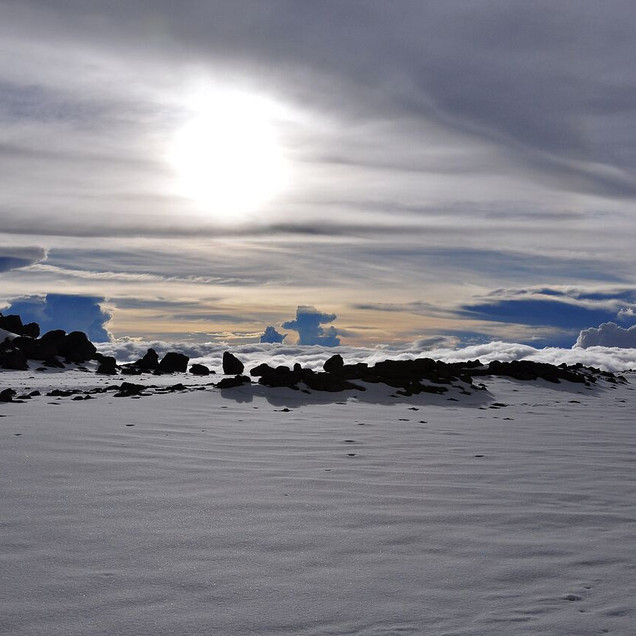Kili-Stunning sunsets from Crater Camp-6