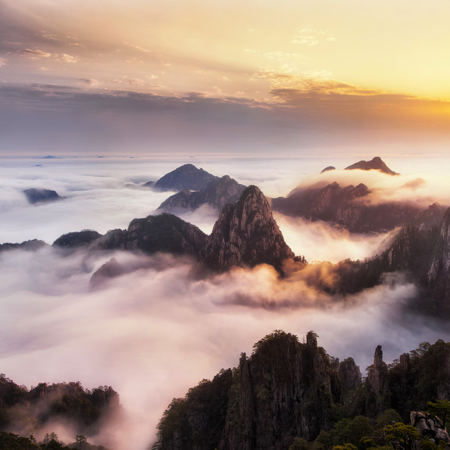HUANGSHAN DESTINATION IMAGE Mount Huangs