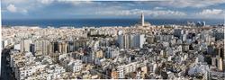 Vue panoramique de Casablanca
