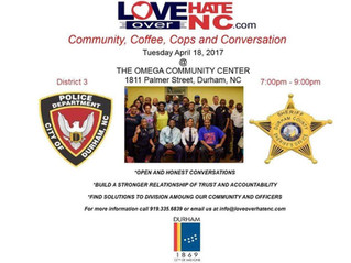 Community, Coffee, Cops and Conversation April 18th 7:00 pm - 9:00 pm