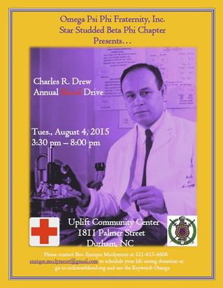 Dr. Charles R. Drew Blood Drive
