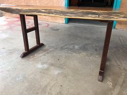 Juniper Coffee Table w Turquiose inlay 1