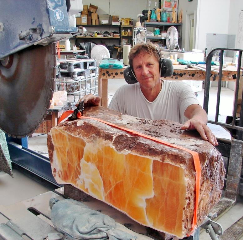 Mark Breithaupt Fresh Cut Amber Onyx