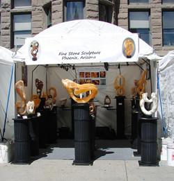 Utah Arts Festival Booth