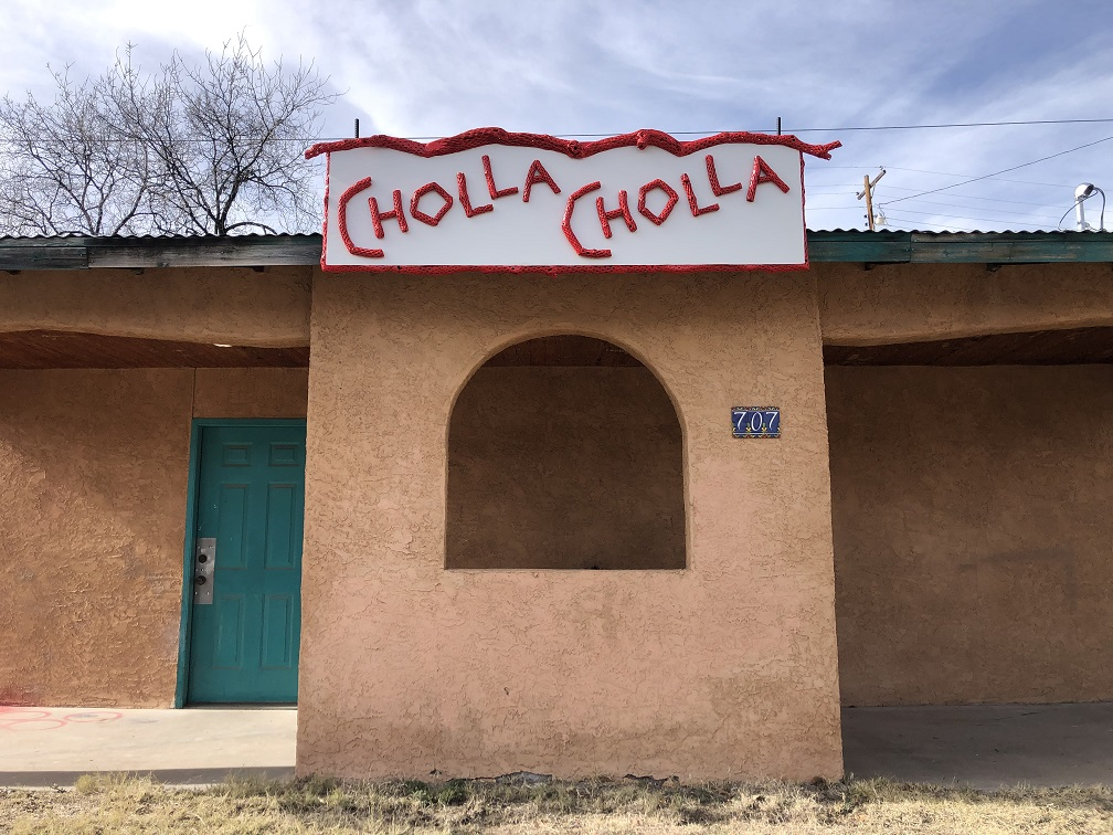 Front Studio Cholla Sign2