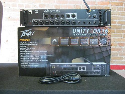 Peavey Unity DR 16 Digital Mixer Display Perfect