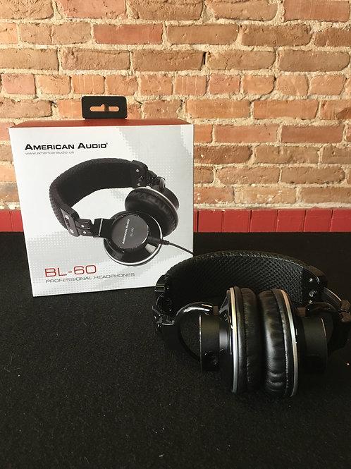 American Audio BL-60 - DJ Headphones
