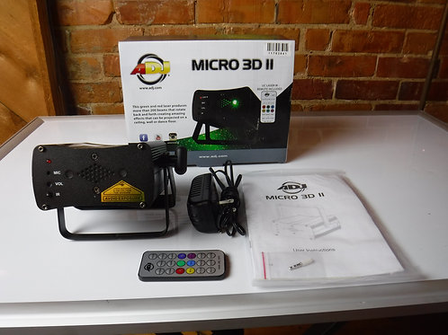 American DJ Micro 3D II Laser Effect-New BLOWOUT
