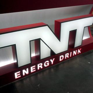 Balcão TNT Energy Drink