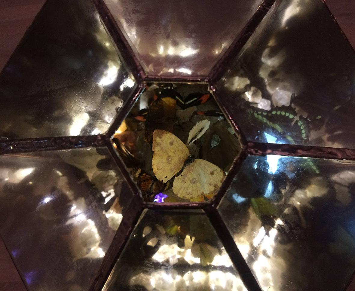 vista superior de las cúpulas