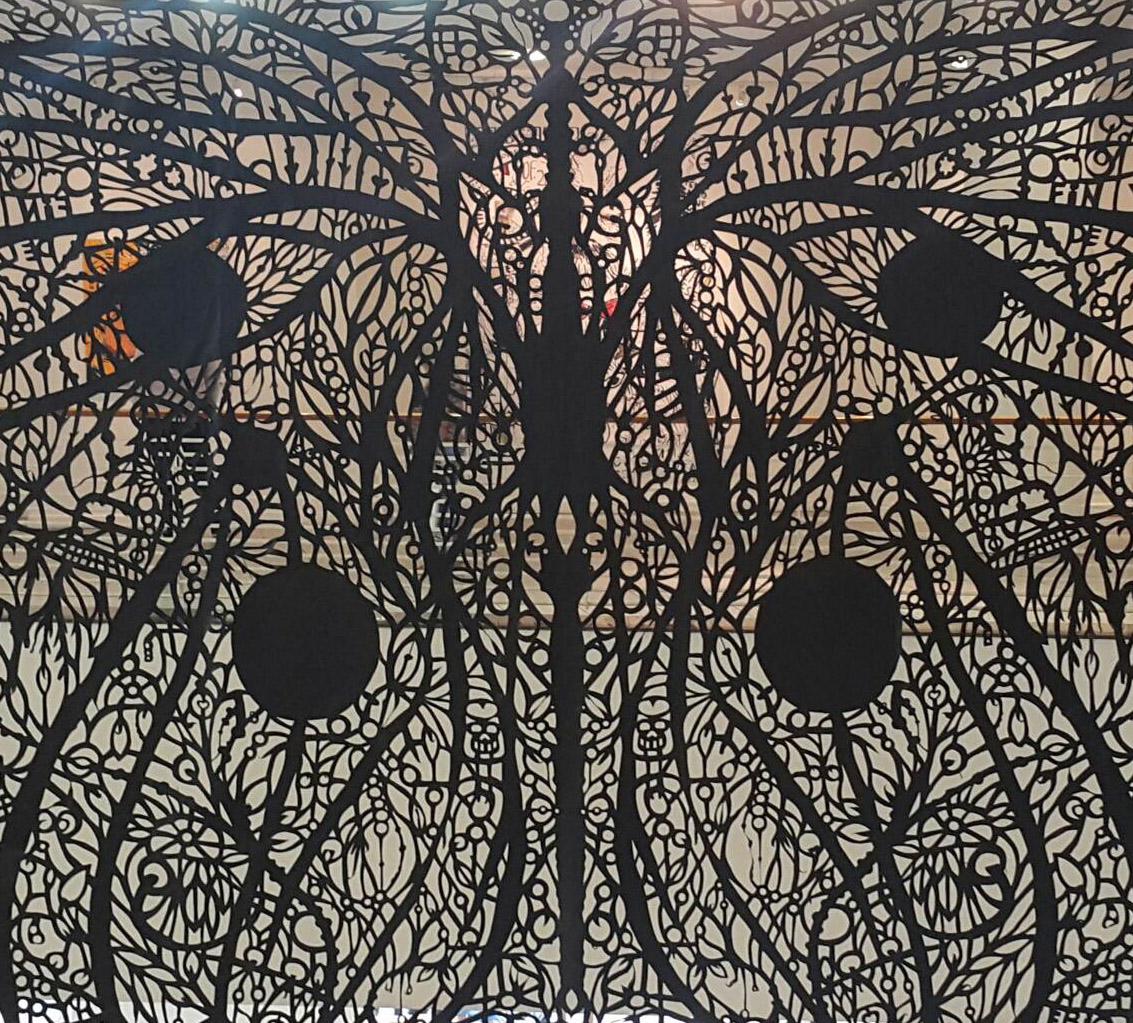 mariposa detalle