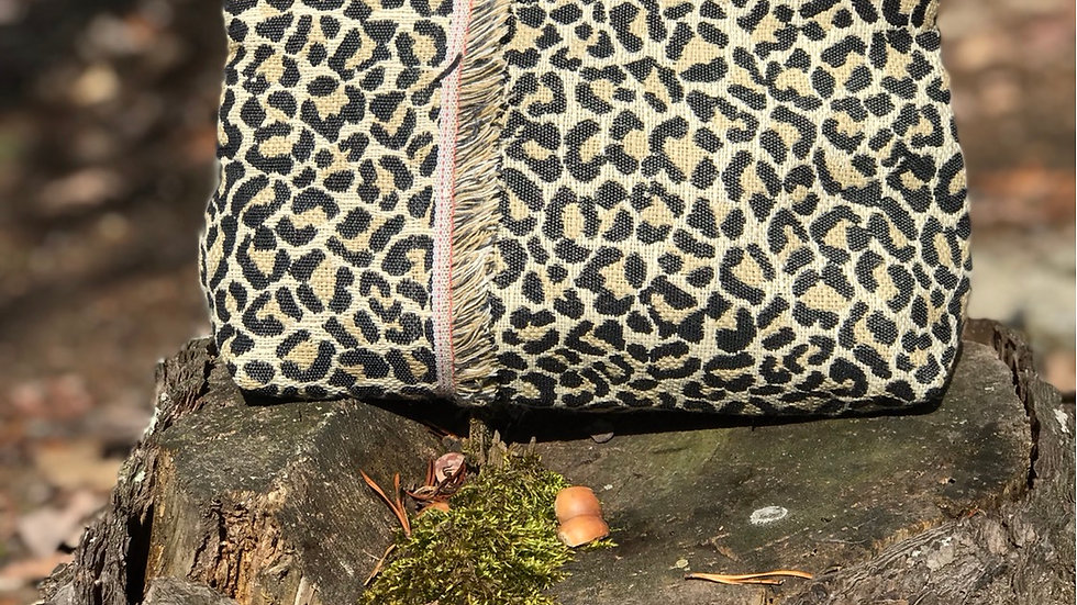 Leopard Zippered Pouch