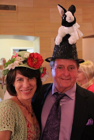 "Two of our Easter ""bonnet"" participants"
