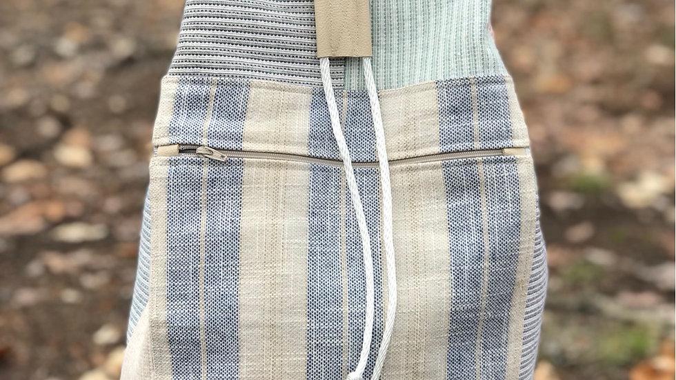 Boho Patchwork Cinch Bag