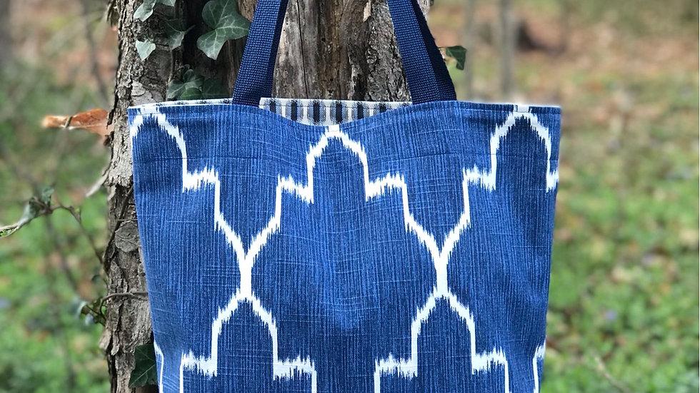 Blue Tote Bag DIY Kit