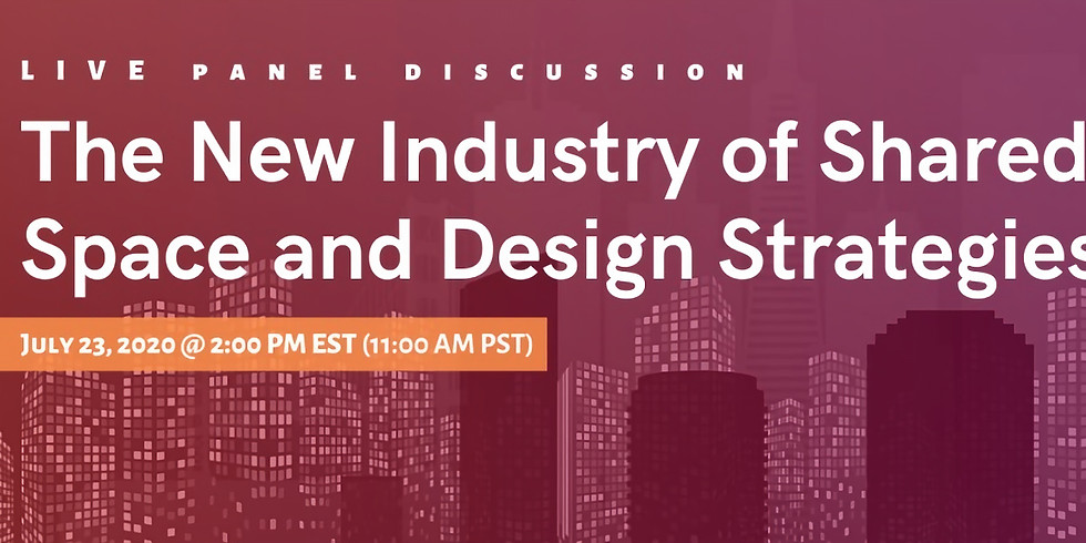 The New Industry of Shared Space and Design Strategies