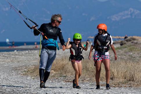 kids kitesurf lessons