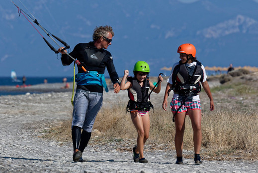 kids kitesurf lessons