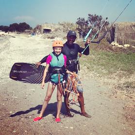 kitesurf in Rhodes