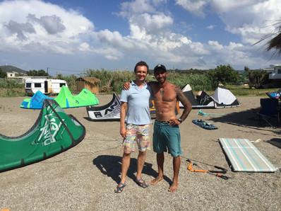 kitesurfing rhodes