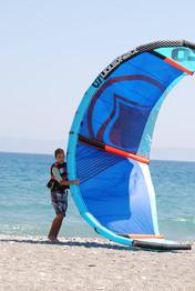 kids kitesurf
